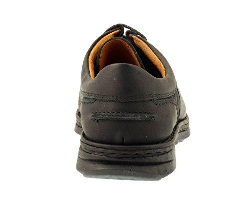Fluchos - Zapatos de cordones para hombre negro