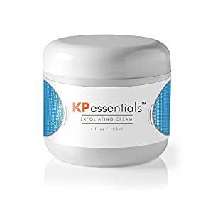KP Essentials - Keratosis Pilaris Exfoliating Cream - Clear Red Bumps on Thighs and Arms For Confident Clear Skin - 4oz