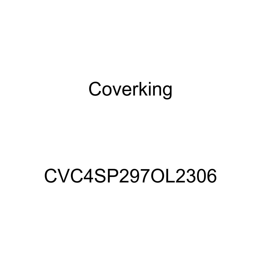 Black Blue Stormproof CVC4SP297OL2306 Coverking Custom Fit Car Cover for Select Oldsmobile Cutlass Supreme Models