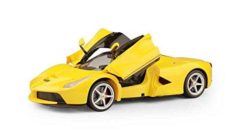 1/14 Scale Ferrari La Ferrari LaFerrari Radio Remote Control Model Car R/C RTR Open Doors (Yellow) by - Ferrari Yellow