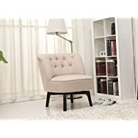 Gold Sparrow Raleigh Swivel Chair, Beige