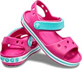 Crocs Kids Crocband Candy Pink Pool Sandals Size 1