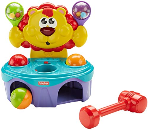 - Fisher-Price Go Baby Go! Bop & Rock Musical Lion - Bop & Rock Musical Lion, Multi Color