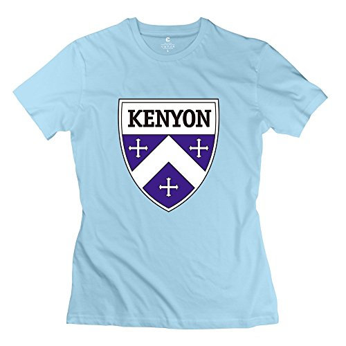 SkyBlue VAVD Lady's Kenyon College 100% Cotton T Shirt Size XXL]()