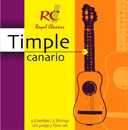 JUEGO CUERDAS TIMPLE CANARIO RC STRINGS: Amazon.es: Instrumentos ...