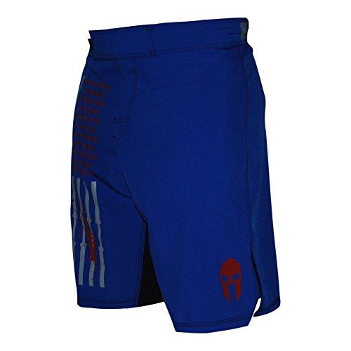 WarriorXGear WOD OCR MMA Shorts (Blue, 32)