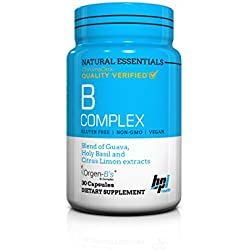 BPI Sports Natural Essentials, B Complex, 30 Count