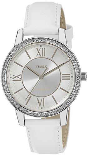 Timex Fashion Analog Silver Dial Women #39;s Watch   TW000Y803