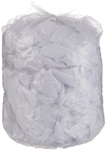 AmazonBasics 23 Gallon Slim Trash Can Liner, 1.1 mil, Clear, 250-Count