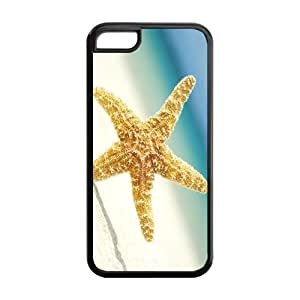 FEEL.Q- Unique Custom TPU Rubber iPhone 6 4.7'' Case Cover - Sea Star