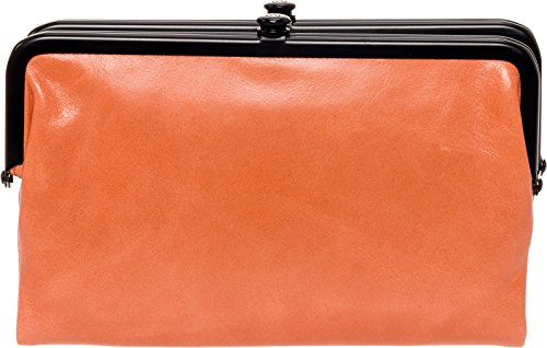 Hobo Womens Glory Vintage Leather Clutch Wallet (Persimmon) by HOBO