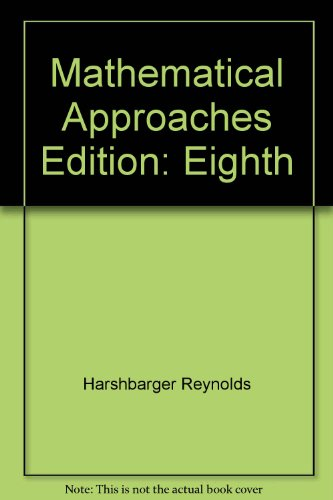 Mathematical Applications for the Management, Life, and Social Sciences Selected Chapters (Chapters 9-12)
