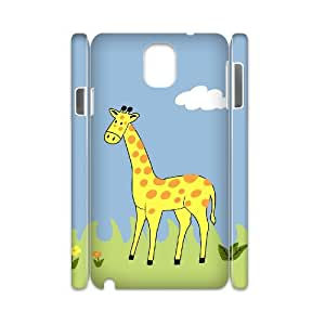 ZLGU(RM) Samsung galaxy note 3 N9000 3D Case with Giraffe Custom Case, DIY phone case