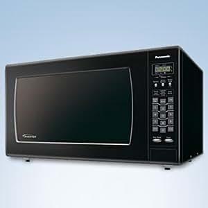 Amazon Com Panasonic 2 2 Cu Ft 1250 Watt Microwave W