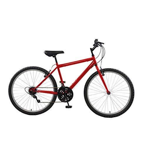 Cycle Force Rigid Mountain Bike 26 inch Wheels 18 inch Frame Men's Bike Red [並行輸入品]   B075K234PJ