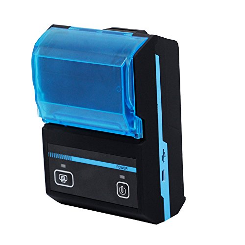 Find Bargain Milestone 2inch Android/iOS/Computer Connected Thermal Receipt Printer Bluetooth Wireless Thermal Line Printing MHT-P5801-F
