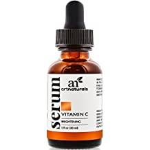ArtNaturals Anti-Aging Vitamin C Serum - 30 ml - with Hyaluronic Acid and Vit E - Wrinkle Repairs Dark Circles, Fades Age Spots and Sun Damage - Enhanced 20 Percent Top Vitamin C Super Strength - Organic Ingredients