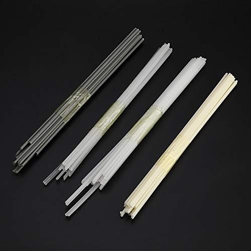 Kamas Lot de 50 baguettes de soudure en plastique non toxique 200 mm de longueur ABS//PP//PVC//PE