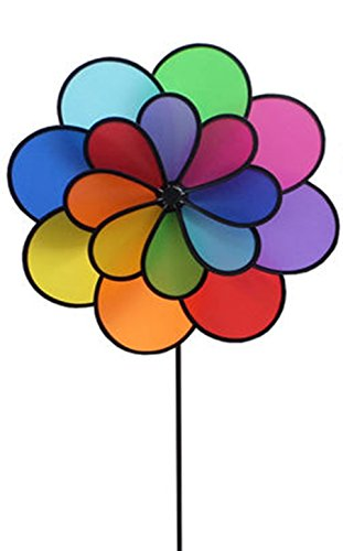 Wings®Double Wheel 16-Petal Flower Garden Spinner (Big)