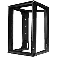 Hubbell HPWWMR24 Wall Mount Network Rack, Swing Frame, 12U, 24 Height x 18 Deep