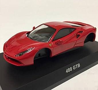 amazon 1 64 京商 サンクス フェラーリ 12 488 gtb 赤 レッド
