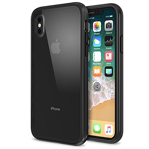Maxboost HyperPro Hybrid Apple iPhone X Clear Case (Large Image)