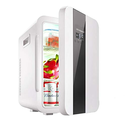 Mini Refrigerator Car Refrigerator Home Refrigerated Wine Cabinet Hot and Cold Dual-use Refrigerator 22L Energy Saving 12V Cigarette Lighter can be Driven (Color : Black, Size : 452934cm) (Full Size Wine Fridge)