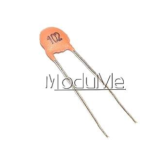 Capacitor DISC 100 V 1000pf Ceramic Capacitors Multi-Layer-Pack of 10