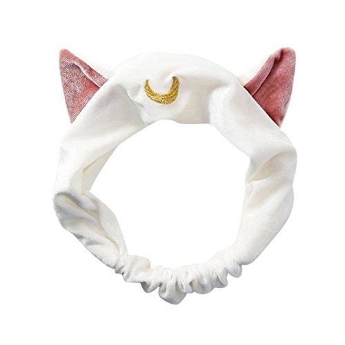 YJYdada Cat Ears Hairband Head Band Party Gift Headdress Hai