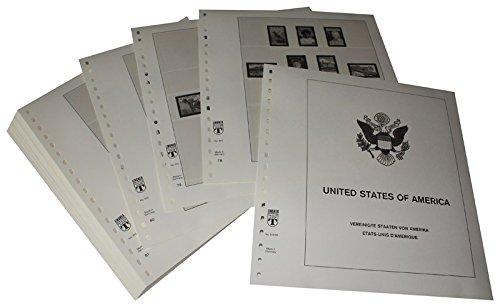 Lindner T Vordruckblätter T512 90 USA Frei-, Gedenk- und Luftpostmarken- Jahrgang 1990 bis 1994