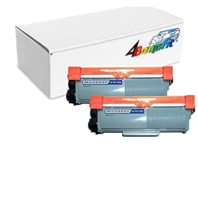4Benefit 2 Pack Compatible Brother TN660 (TN-660/TN630) Black Laser Toner Cartridge, 2,600 Pages for Brother DCP-L2520DW, DCP-L2540DW, HL-L2300D, HL-L2320D, HL-L2340DW, HL-L2360DW, HL-L2380DW, MFC-L2700DW, MFC-L2720DW, MFC-L2740DW Printers