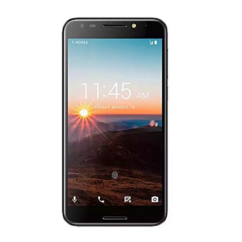Alcatel Revvl 5049W 32GB Android Nougat 7.0 Fingerprint Secured Smartphone T-Mobile (Renewed)