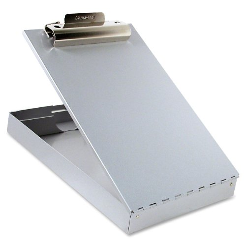 Saunders 11017 Recycled Aluminum Redi-Rite Storage Clipboard - Letter Size - 8.5 x 12 inches