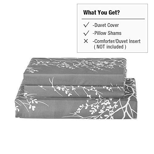 Vaulia Lightweight Microfiber Duvet Cover Set