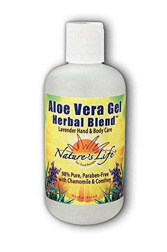 Cheap Lavender Aloe Vera Nature's Life 8 oz Gel
