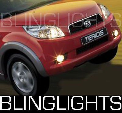 (Non-Halo Fog Lights Driving lamps Compatible with 1997-2012 Daihatsu Terios se taruna 07 08)