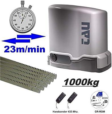 Accionamiento de puerta corredera MASTER-R. Velocidad de apertura: 23 m/min hasta máx. 1000 kg.: Amazon.es: Bricolaje y herramientas