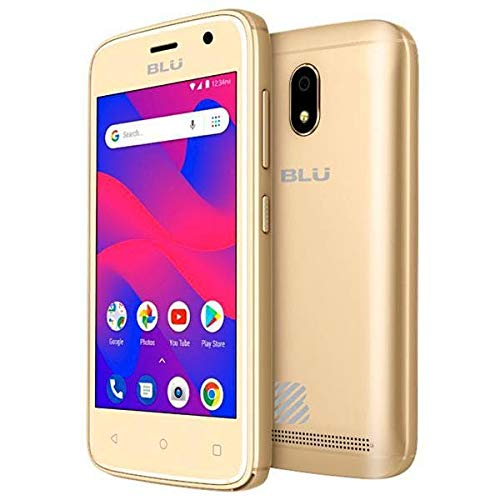 BLU C4 C050U 3G Unlocked GSM Dual-SIM w/ 5MP Front and Rear Camera's - Gold