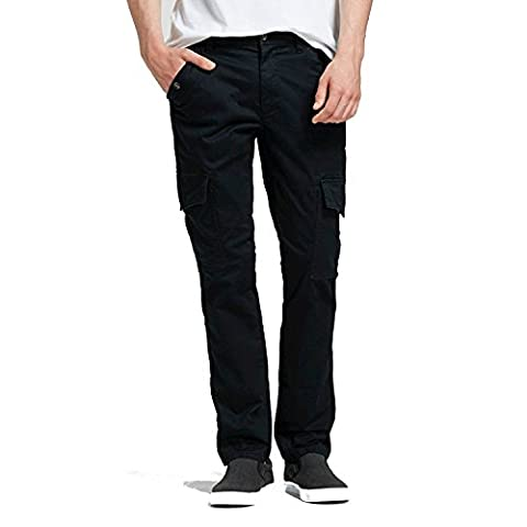 Mossimo Supply Co. Men's Cargo Pants Black Size 40x30 (Mossimo Supply Co For Men)