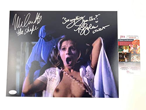 (Nick Castle and PJ Soles Signed 11x14 Photo Halloween JSA)
