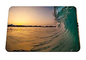 "Hawaii, Sunrise, Waves- Mouse Pad - Gaming Mouse Pad - 8.6""x7.1"" inches"