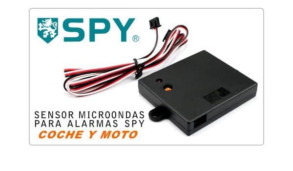 Sensor Microondas para Alarma de Coche o Moto SPY: Amazon.es ...