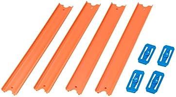 Hot Wheels Pacote 4 Pistas Mattel Laranja