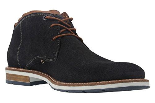 FRETZ men Herren Business Stiefeletten - Andrew - Blau Schuhe in Übergrößen