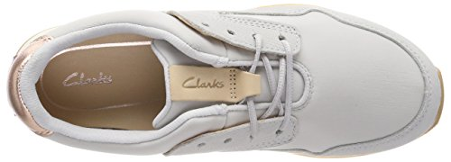 Blue Femme Sneakers Basses Floura ice Clarks Mix Bleu wfxUgRqnaW