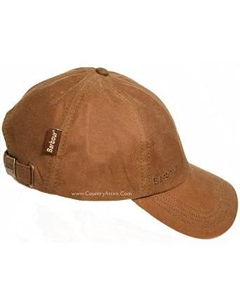 Barbour Wax Sports Cap - Sandstone MHA0005SN71 (H8040)  Amazon.co.uk   Clothing 5c79fee6f74