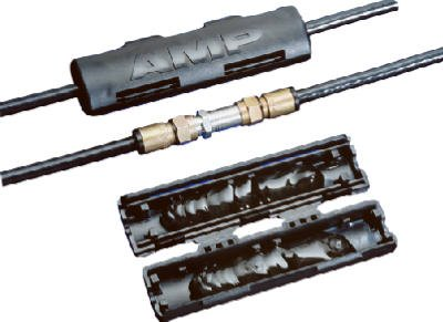 Tyco Electronics CPGI-569224-1K RG-6 F Connector Cable Splice Kit - Quantity 5
