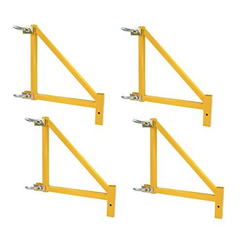 Offex 18 Inch Heavy Duty Steel Scaffolding Outrigger, 4 Piece Set