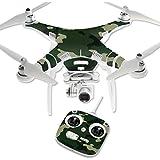 MightySkins Protective Vinyl Skin Decal for DJI Phantom 3 Standard Quadcopter Drone wrap cover sticker skins Green Camo