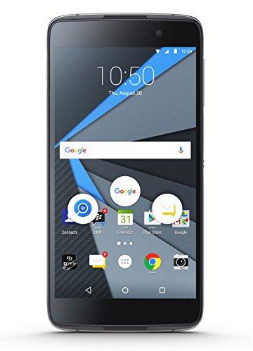 BlackBerry STH100-1 DTEK50 Unlocked GSM 4G Android Phone w/13MP Camera - Black (Certified Refurbished)